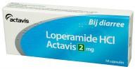 Actavis Loperamide 2mg