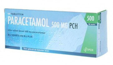 Paracetamol PCH 500mg (30st)