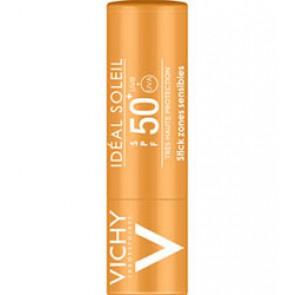 Vichy Ideal Soleil Stick SPF 50+ voor gevoelige huidzones en lippen