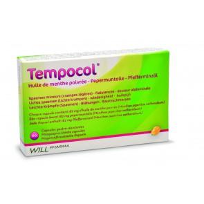 Tempocol (pepermuntolie capsules)
